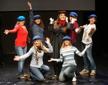 18. April 2011: Theaterauff�hrung im Theaterhaus Stuttgart
