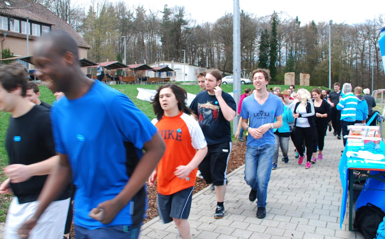 UNICEF Spendenlauf mit Dieter Baumann - Aktuelles aus dem