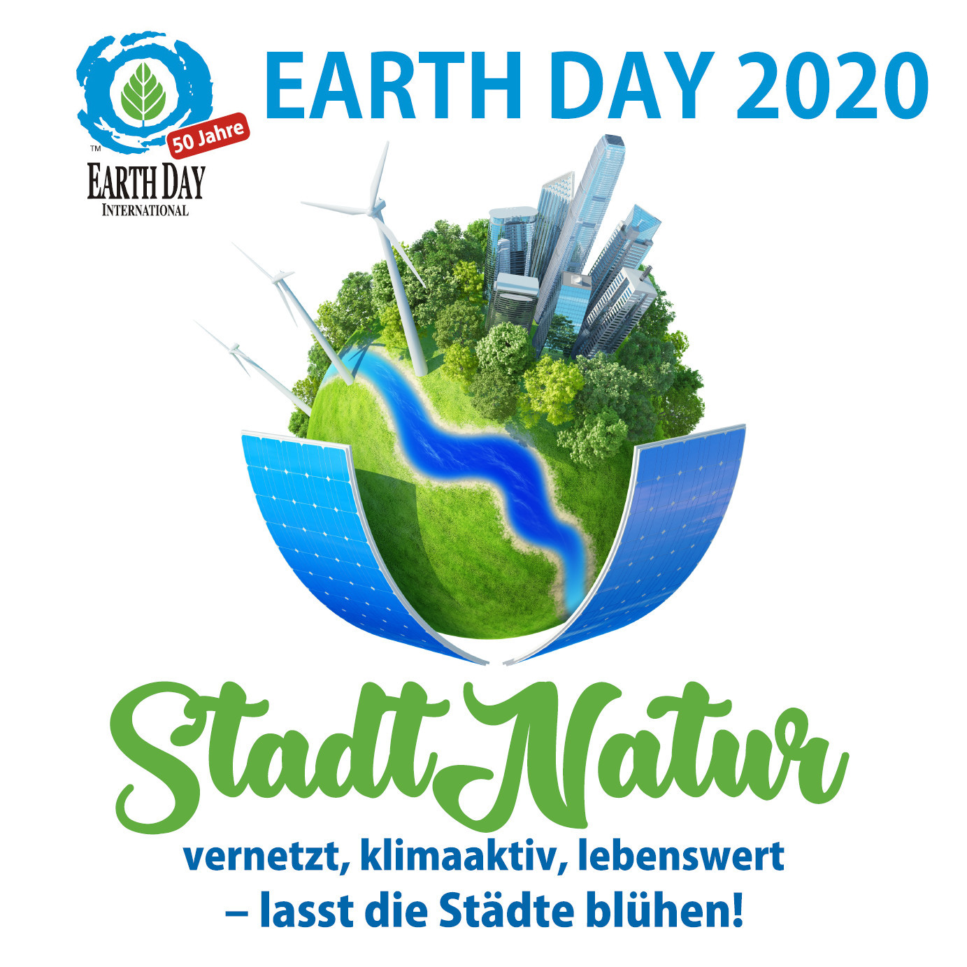 Earth Day 2020 am 22. April