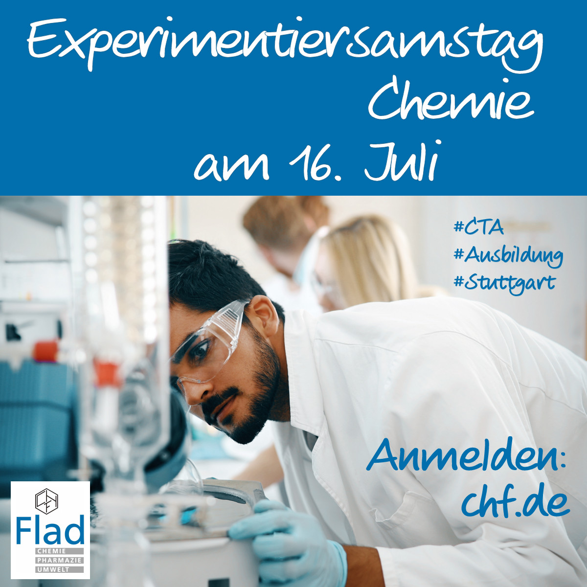 Experimentiersamstag Chemie am 14.11.2020