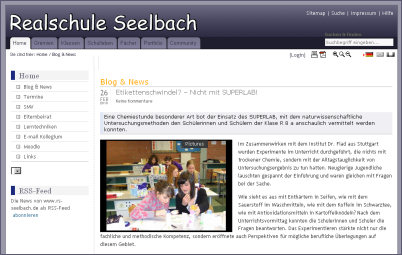 Das SuperLab des CHF an der Realschule Seelbach